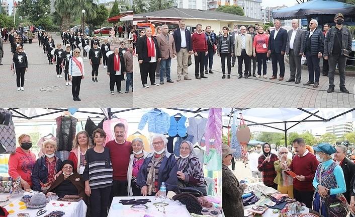 Atakum'da Yaza Veda Panayırı etkinliği