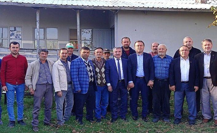 Havza Belediye Başkanı Özdemir mahalle ziyaretlerinde