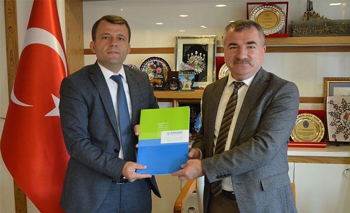 Havza Belediyesi ve ATASAM Sağlık Grubu arasında sağlık protokolü imzaladı