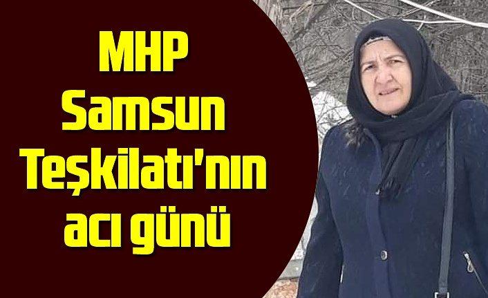 MHP Samsun İl Kadın Kolları Başkanı Fatma İba Kandıra vefat etti