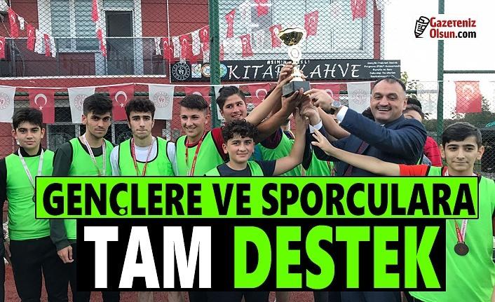 Salıpazarı Belediye Başkanı Halil Akgül Amatör Spor Haftası'nı kutladı