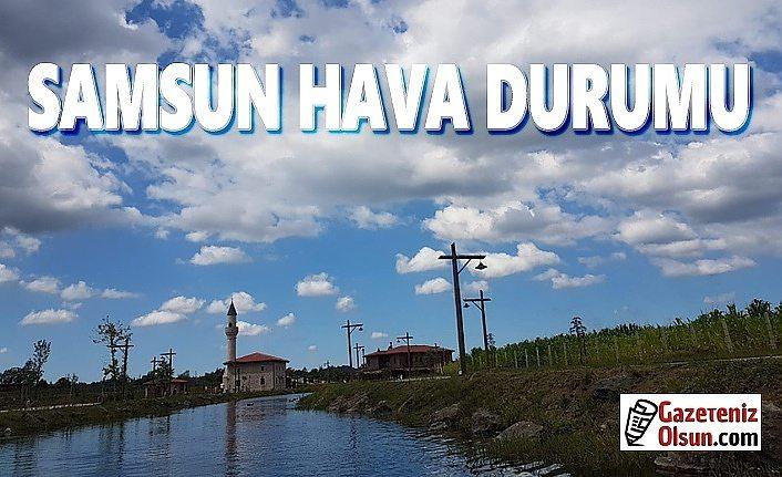 Samsun'da Rüzgar Uyarısı