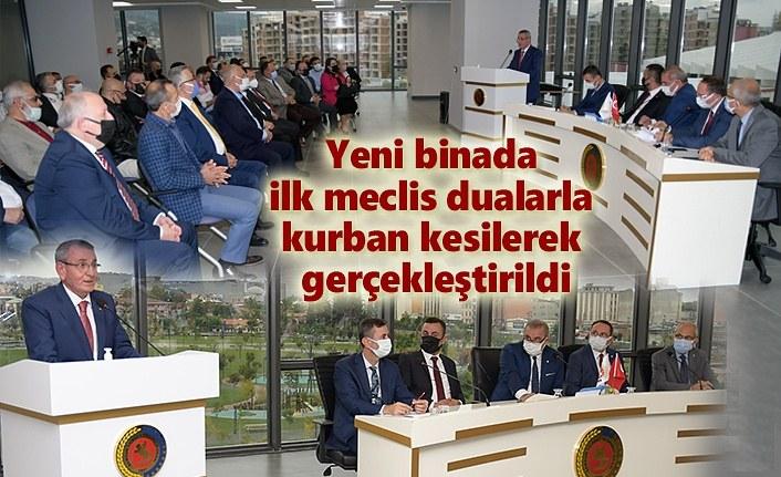 Samsun TSO yeni binada ilk meclis toplantısını yaptı