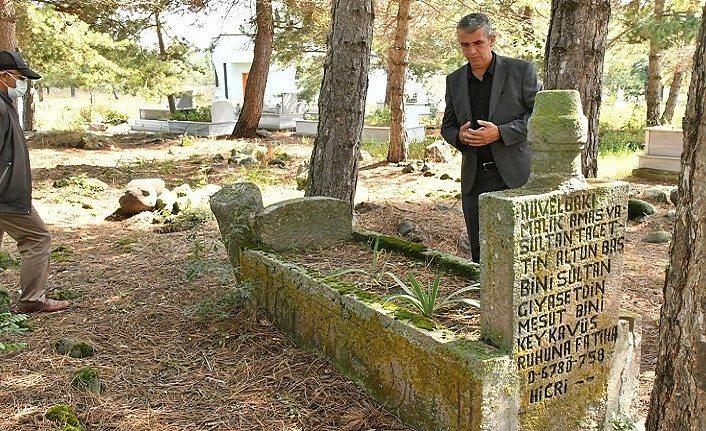 Şehzade Keykavus'un Havza'daki mezarı türbe oldu