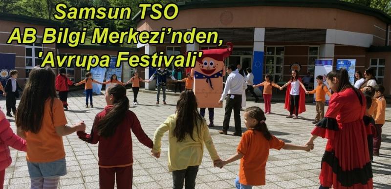 9 Mayıs Avrupa Günü Samsun'da kutlandı