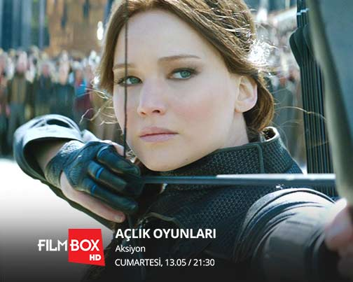 Açlık Oyunları FilmBox HD ekranlarında