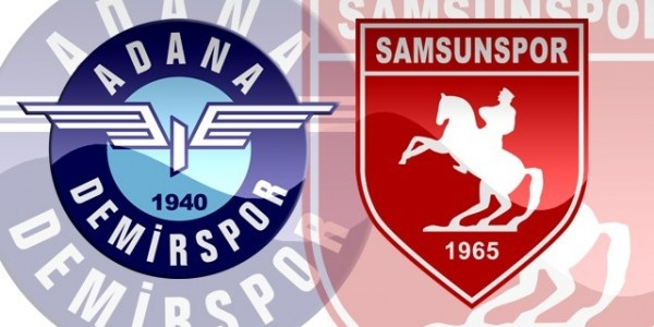 Adana Demirspor Samsunspor maç sonucu 1-1