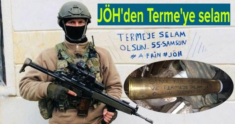 Afrin'den Başkan Kul'a selam