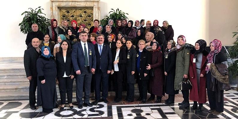 AK Parti Alaplı Kadın Kolları'ndan ziyaret