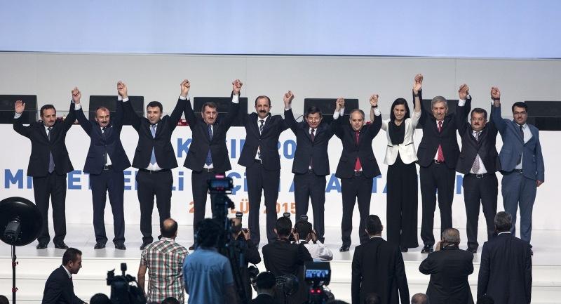 AK Parti Samsun Milletvekili Adayları tanıtıldı
