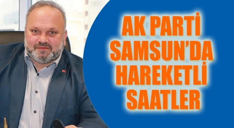 AK Parti Tekkeköy İlçe Başkanı Yusuf Güngör istifa etti
