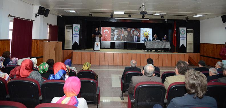 AK Parti Terme 61. İlçe Danışma Meclisi Toplantısı yapıldı