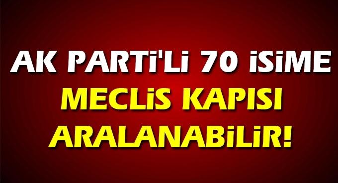 AK Parti'de 3 dönem milletvekililer tekrar aday olabilecek!