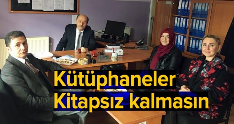 AK Parti'den Köy Okulları'na kitap desteği
