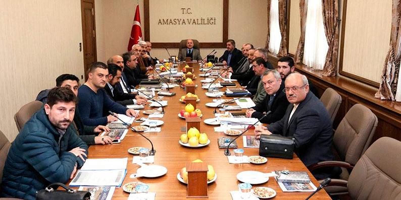 Amasya'da OSB Yönetim Kurulu Toplantısı