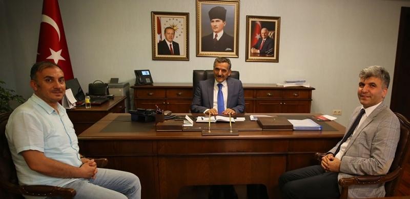 Anadolu Ajansın'dan Vali Kaymak'a Ziyaret