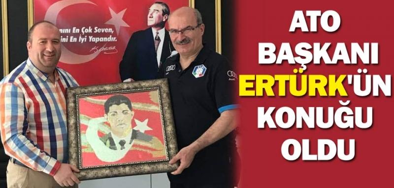 Ankara Ticaret Odası Başkanı Samsun'da