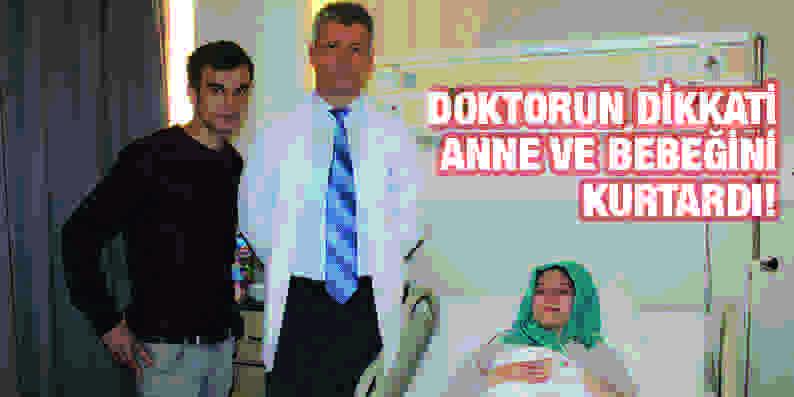 Apandisiti patlayan anne adayı Büyük Anadolu Hastaneleri'nde ameliyat oldu