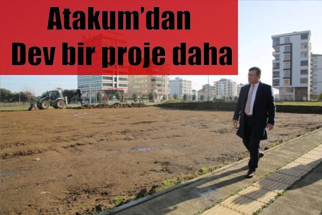 Aqua Park inşaatı başladı