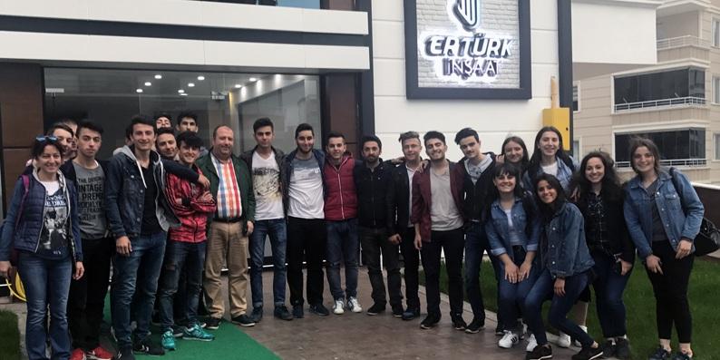 Artvinli öğrenciler Samsun'u gezdi