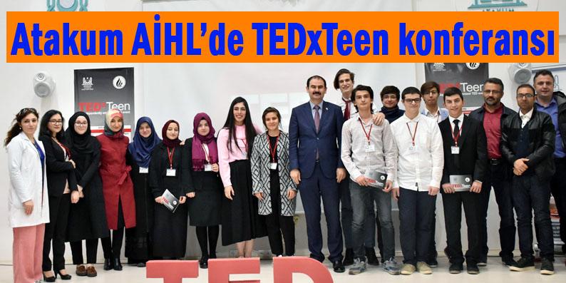 Atakum AİHL'de TEDxTeen Etkinliği
