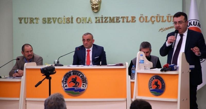 Atakum Belediyesi 2017 Faaliyet Raporu kabul edildi