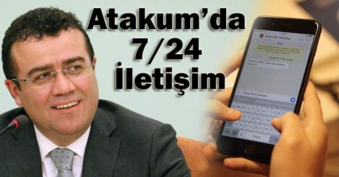 Atakum Belediyesi WhatsApp hattı kurdu 7/24 hizmet veriyor