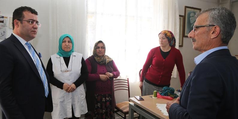 Atakum Belediyesi'nden Balaç'a Köy Konağı