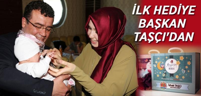 Atakum Belediyesi'nden yeni doğan bebeklere sürpriz