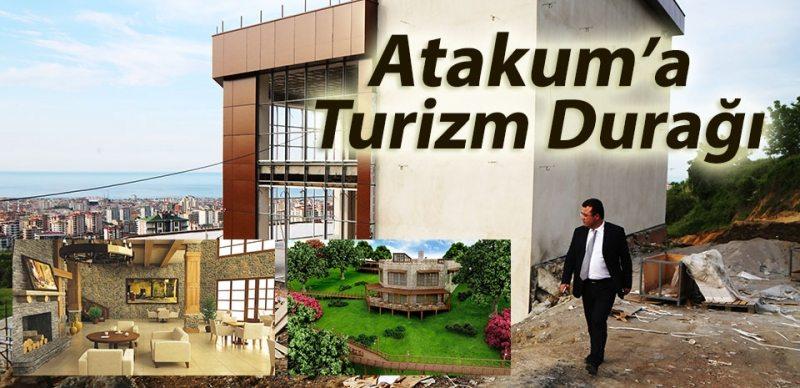 Atakum Seyir Terası Turist akınına uğrayacak