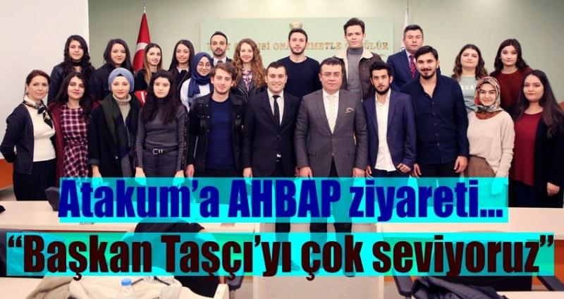 Atakum'da AHBAP, Başkan birlikteliği!