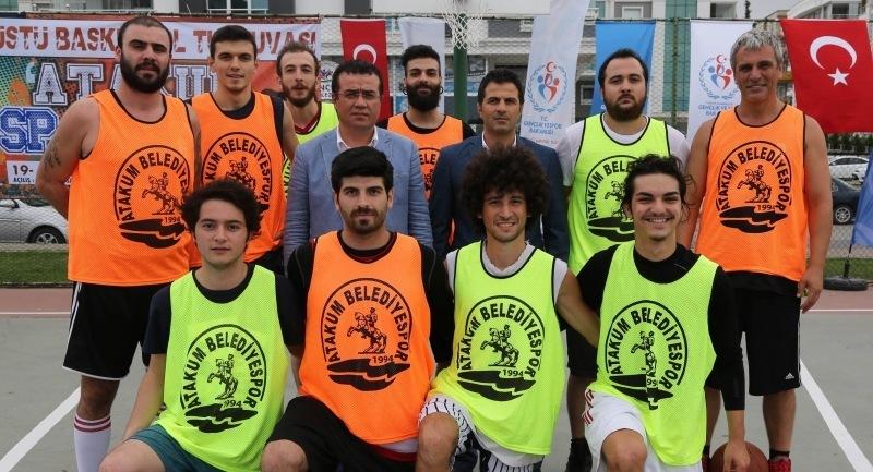 Atakum'da basketbol heyecanı