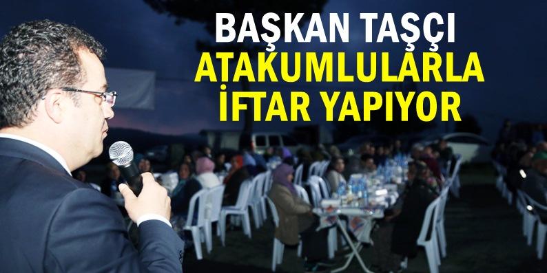 Atakum'da her akşam bir mahallede iftar