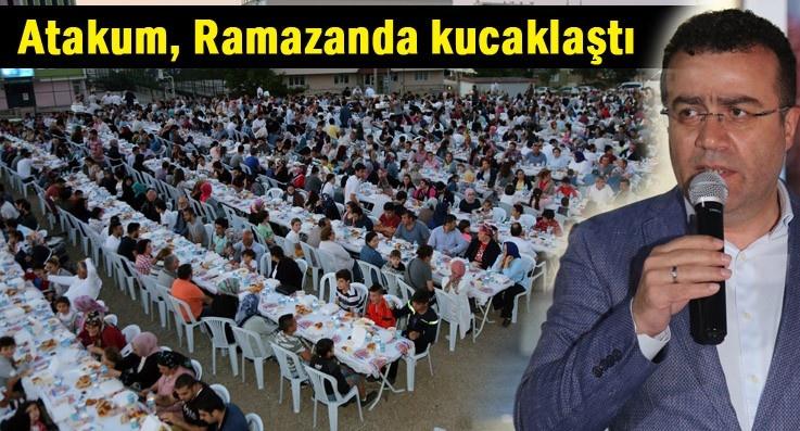 Atakum'da mahalle iftarları kucaklaştırıyor