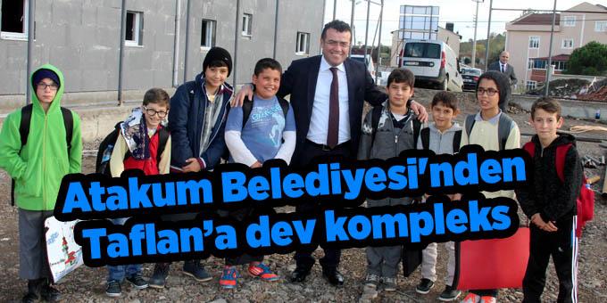 Atakum'da önemli bir hizmet daha halkla buluşuyor!