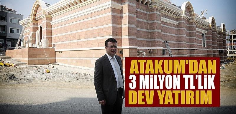 Atakum'dan 3 Milyon TL'lik dev yatırım açılış için gün sayıyor