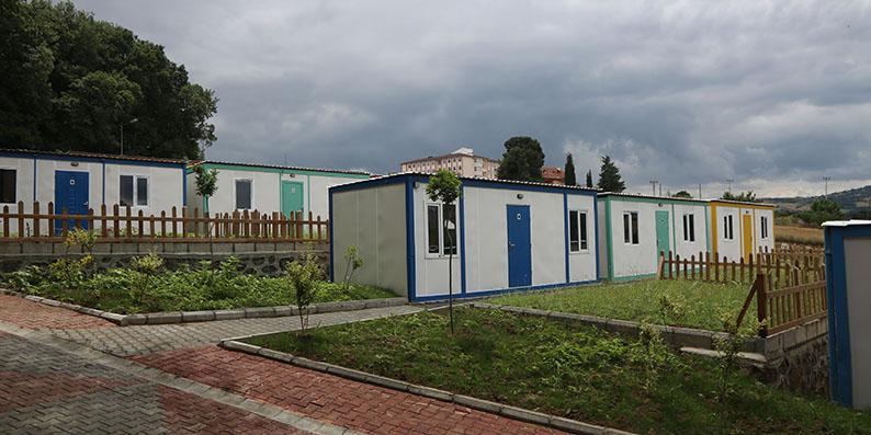 Atakum'dan örnek 'Hobi Bahçeleri' projesi