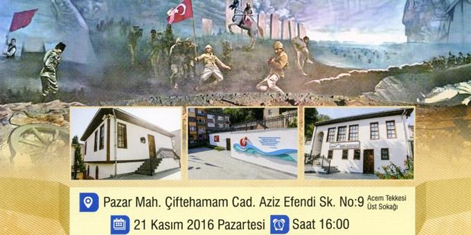Atatürk'ün Samsun'da gizli toplantı yaptığı külliye açılıyor!