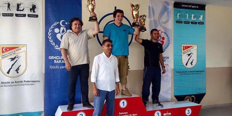 Atıcılık Türkiye Şampiyonu Samsun'dan