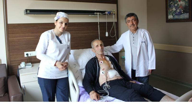 Avrupa ve Dünya Şampiyonu Medicana'da sağlık buldu