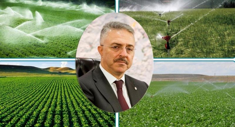 Aydınca Barajı 33 bin dekar alan sulayacak