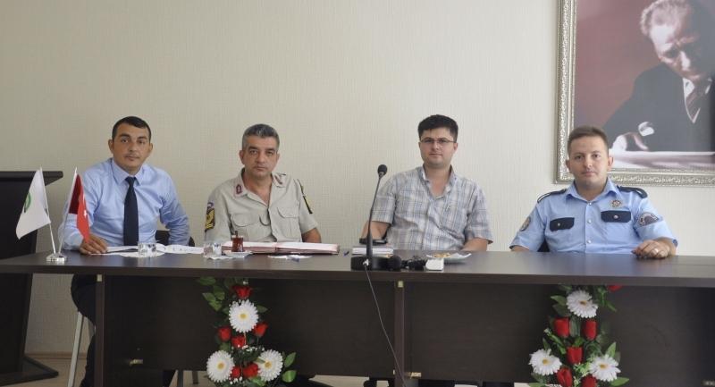 Ayvacık İlçesinin trafik akışı ile ilgili toplantı düzenlendi