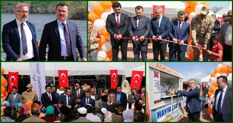 Ayvacık'ta 'Atakum Hayır Çarşısı' açıldı