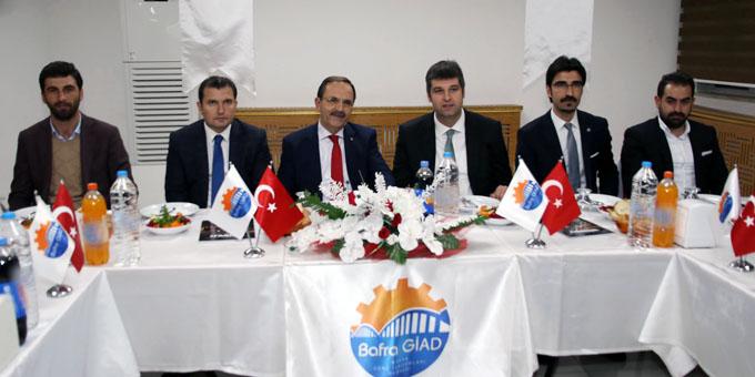Bafra Genç İşadamları Derneği Kasım ayı istişare toplantısı yapıldı