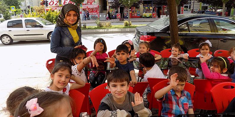 Bafra'da sevgi tomrukçuları açtı