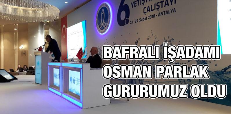 Bafralı İşadamı Osman Parlak'ın hedefi büyük