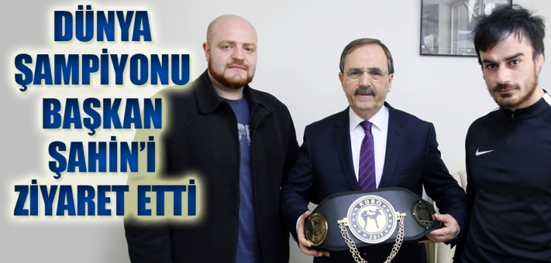 Bafralı Ümit Dünya kick boks şampiyonu oldu