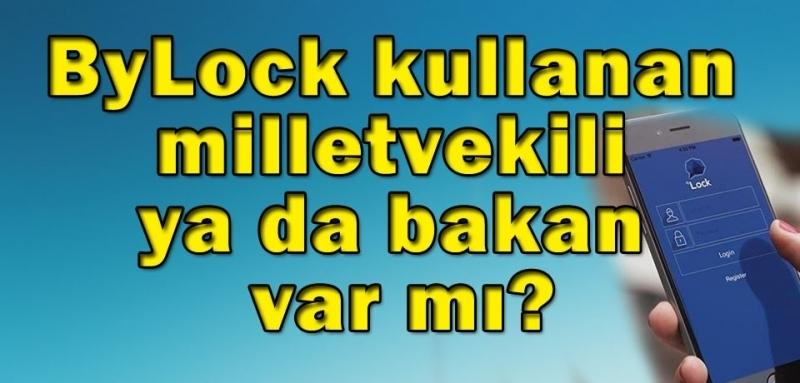 Bakan Canikli: ByLock kullanan milletvekili ya da bakan yok