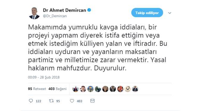 Bakan Demircan'a yalan ve iftira operasyonu!