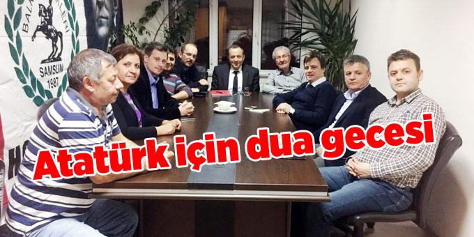 Balkan Türkleri Atatürk için dua ve anma gecesi düzenliyor